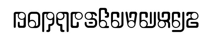 OrbitalFlight-Regular Font LOWERCASE