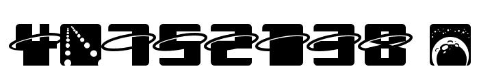 Orbitronio Font OTHER CHARS