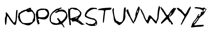 OrcaScript Font UPPERCASE