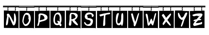 OrderUp Font UPPERCASE