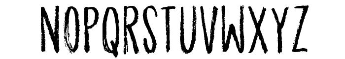 OrdinaryGuyDEMO Font UPPERCASE