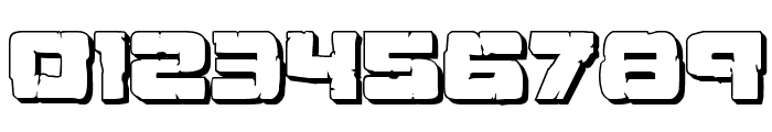 Ore Crusher 3D Regular Font OTHER CHARS