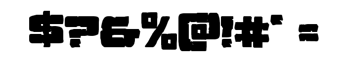 Ore Crusher Bold Font OTHER CHARS