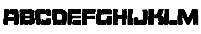 Ore Crusher Condensed Font UPPERCASE