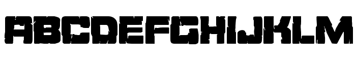 Ore Crusher Condensed Font LOWERCASE