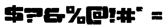 Ore Crusher Expanded Font OTHER CHARS