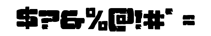 Ore Crusher Regular Font OTHER CHARS