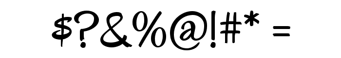 Oregano Font OTHER CHARS