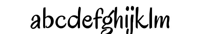Oregano Font LOWERCASE