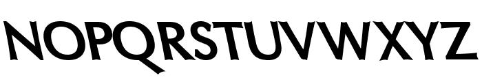 Oregon LDO Black Sinistral Font UPPERCASE