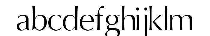 Oregon LDO Book Font LOWERCASE