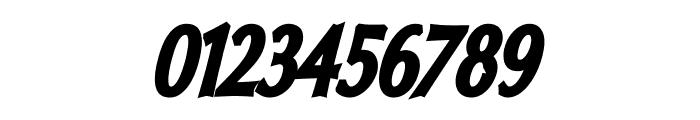 Oregon LDO Condensed Black Oblique Font OTHER CHARS