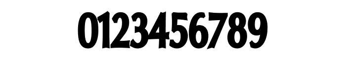 Oregon LDO Condensed Black Font OTHER CHARS