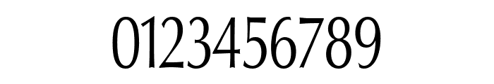 Oregon LDO Condensed Font OTHER CHARS