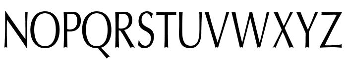 Oregon LDO Condensed Font UPPERCASE