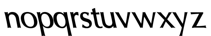 Oregon LDO DemiBold Sinistral Font LOWERCASE