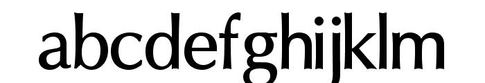 Oregon LDO DemiBold Font LOWERCASE