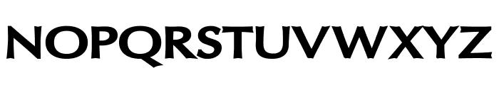 Oregon LDO Extended Black Font UPPERCASE