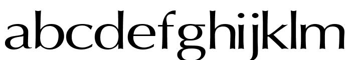 Oregon LDO Extended Font LOWERCASE