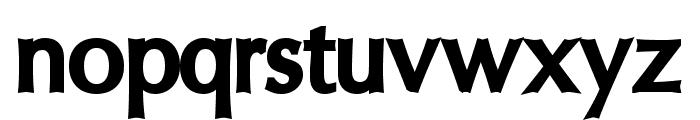 Oregon LDO ExtraBlack Font LOWERCASE