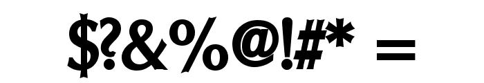 Oregon LDO ExtraBold Font OTHER CHARS