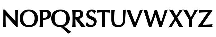 Oregon LDO ExtraBold Font UPPERCASE