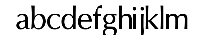 Oregon LDO Medium Font LOWERCASE