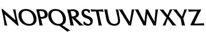 Oregon LDO Sinistral Bold Font UPPERCASE
