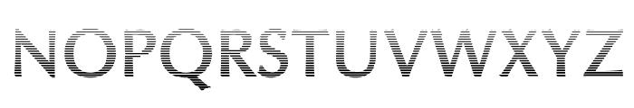 Oregon LDO Vanishing Bold Font UPPERCASE