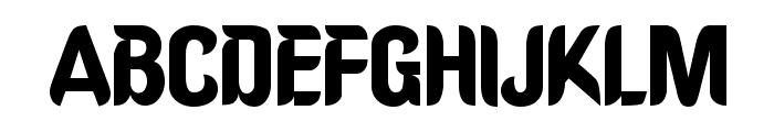 Oregon Regular Font UPPERCASE
