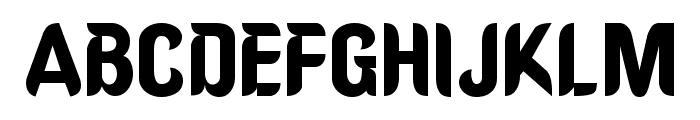 OregonDry Normal Font UPPERCASE