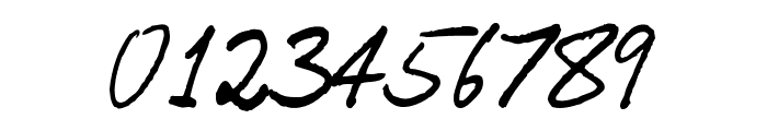 OrenScript Font OTHER CHARS