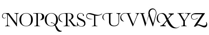Organic Elements Font UPPERCASE