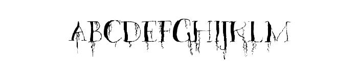 OrganicFear-Regular Font UPPERCASE