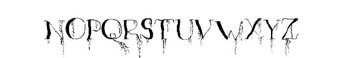 OrganicFear-Regular Font LOWERCASE