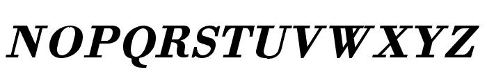 Orgreave Bold Italic Font UPPERCASE