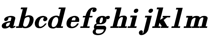 Orgreave Bold Italic Font LOWERCASE