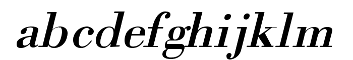 Orgreave Italic Font LOWERCASE
