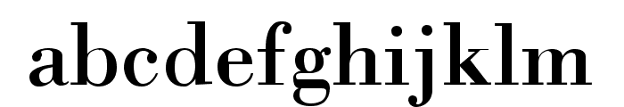 Orgreave Font LOWERCASE