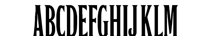 Orient Express Font UPPERCASE