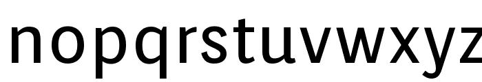 Orienta Font LOWERCASE