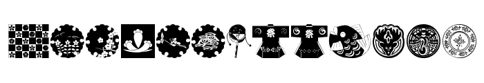 OrientalDesign Font UPPERCASE