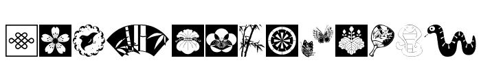 OrientalDesign Font LOWERCASE