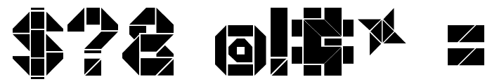 Origami Making Font OTHER CHARS