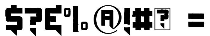 Origicide Font OTHER CHARS