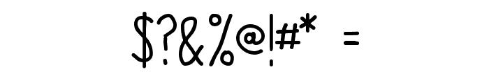 Origin Font OTHER CHARS