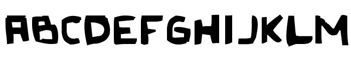Original Olinda Style Font UPPERCASE