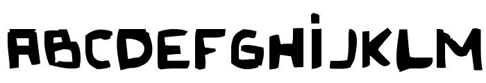 Original Olinda Style Font LOWERCASE