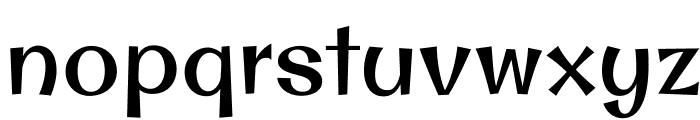 OriginalSurfer-Regular Font LOWERCASE