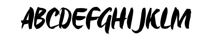 Origo_TRIAL Font UPPERCASE
